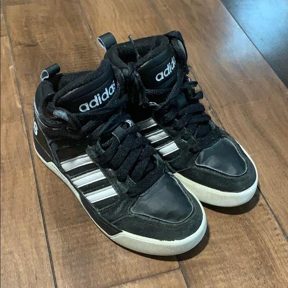 adidas Shoes   Hightops Boys Size 12